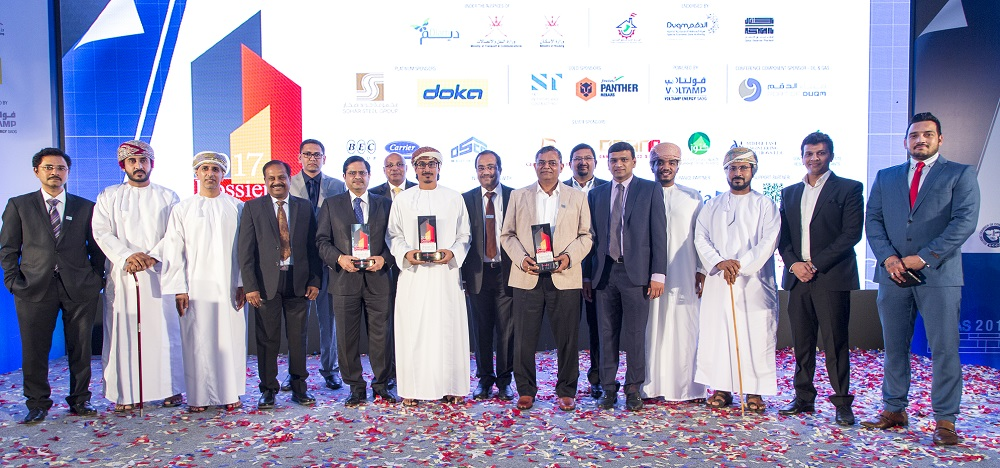 S&T Interiors and Contracting named Global Omani Company 2017, wins 3 coveted awards