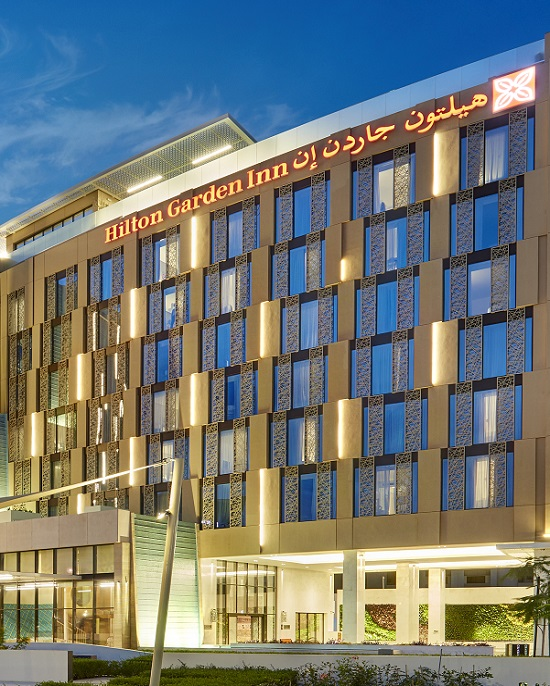 S&T Interiors and Contracting underakes fit-out works for Hilton Garden Muscat