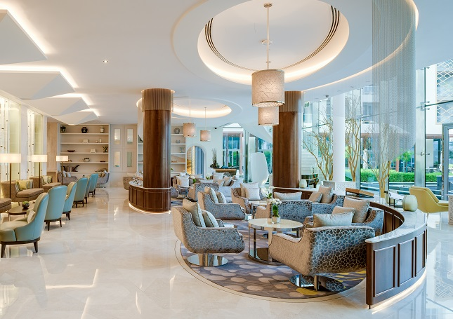 Kempinski Al Mouj Muscat - S&T Interiors and Contracting fitout contractors for the F&B areas, spa and gym