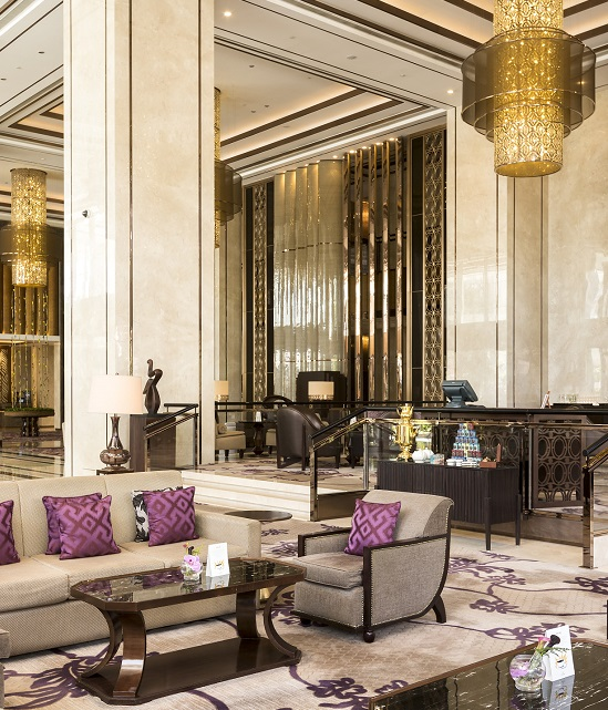 Fit-out works and Loose Furniture by S&T India at Shangri-La Hotel Bengaluru, India