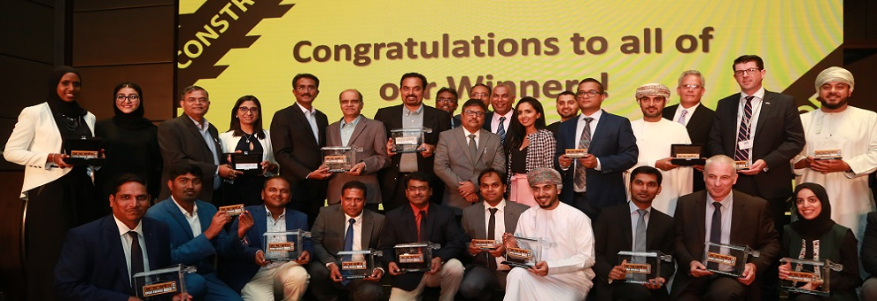 S&T Interiors and Contracting Platinum Sponsor at Construction Week Oman Awards 2019