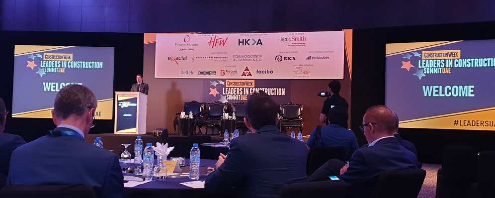 Construction Week Construction Leaders UAE Summit 2019