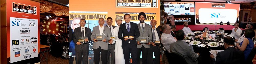 S&T Interiors and Contracting, the platinum sponsors at CW Oman Awards 2018