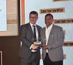 S&T Executive Director - General Contracting - Ranganatha RP wins Construction Executive of the Year, CW Oman Awards 2018