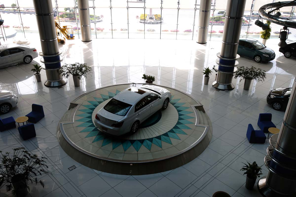 Toyota & Lexus Showrooms, Muscat - S&T Interiors and Contracting